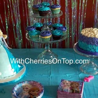 Elsa Doll cake - Cake by WithCherriesOnTop