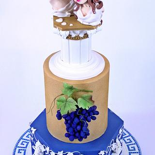 Greek wedding cake - Cake by My sweet miracles