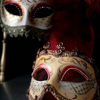 Edible mask vs real mask.