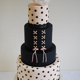 Wedding Cakes Inspired by Fashion - Cake by Sadie Smith
