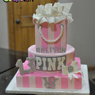 Victoria's Secret Pink Cake