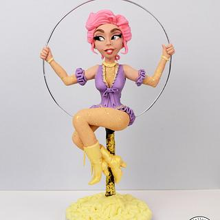 The Greatest Showman - Anne - Cake by Yellow Bee Sugar Art by Vicky Teather