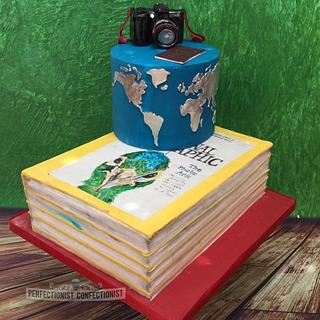Eimear - Travel Inspired Birthday Cake - Cake by Niamh Geraghty, Perfectionist Confectionist