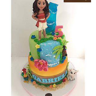 Moana cake - Cake by  Vale Logroño