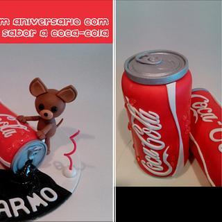 Maria do Carmo's Chihuahua and Coca Cola Addict! :)