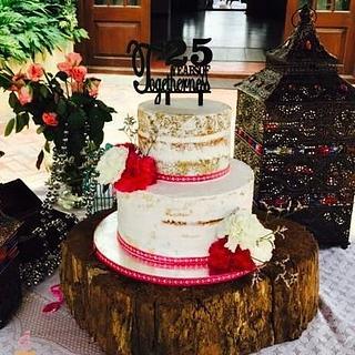 The Naked Cake - Cake by Sheeba