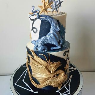 Zodiac cake - Cake by Anastasia Krylova