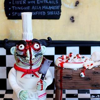 Aldo, the Zombie Chef.