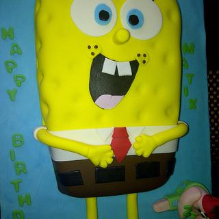 Spongebob cake - Cake by For Heaven's Cakes by Julie