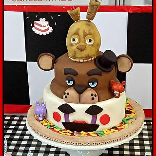FIVE NIGHTS AT FREDDY'S - Cake by Andy Cat