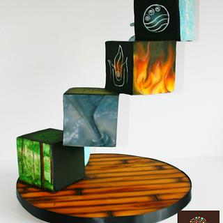 4 Elements, Earth Air Fire Water