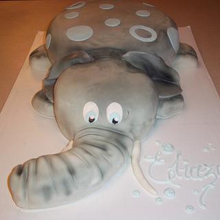 "It's a baby boy ""elephant"""
