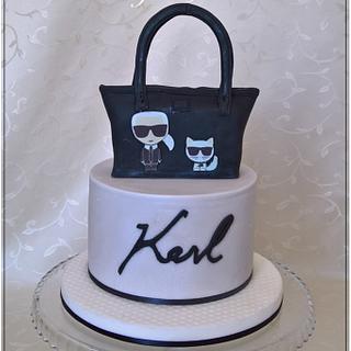 """Sweet bag """"Karl Lagerfeld"""""""