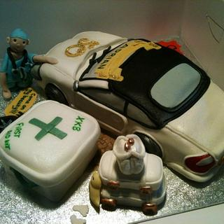 The Jag & the Doctor - Cake by Eve