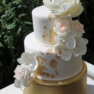 Summer Sun Weddingcake