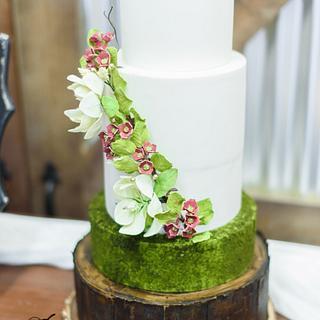 Missy Woodland Wedding Cake
