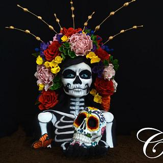 Day of the dead - Cake by Fallon Rae Cakes