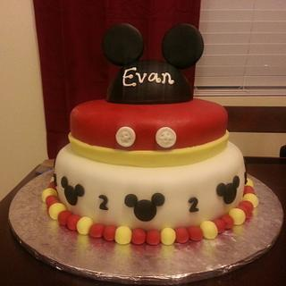 Mickey - Cake by Priscilla