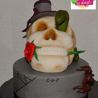 Skull, Happy Halloween.... :)