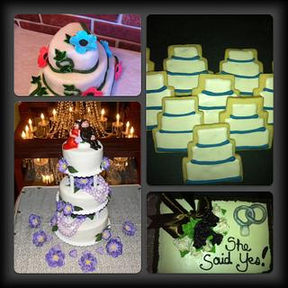Theme Cakes - weddings, anniversaries, showers and christenings