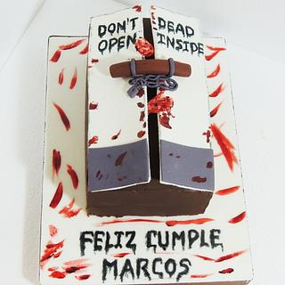 THE WALKING DEAD CAKE