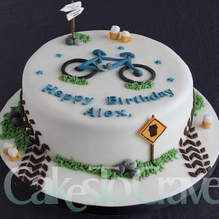 Cycling Pub Tour Cake