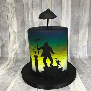 Mary Poppins Cpc Collaboration - Cake by Kaatje Fondant