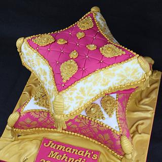 Cushion/Pillow cake