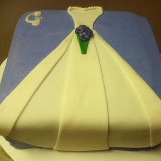 Bridal shower cake - Cake by Vero