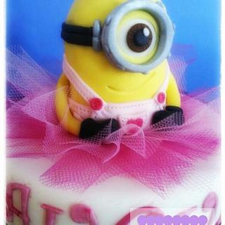 Minion's cake - Cake by DolceMenteEle