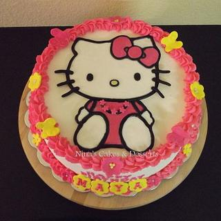 Hello Kitty Cake 2