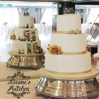 Lego Surprise Wedding Cake