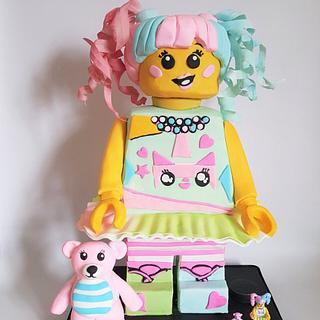little people BIG IDEAS Lego Collaboration -  N-Pop Girl  - Cake by MySugarFairyCakes
