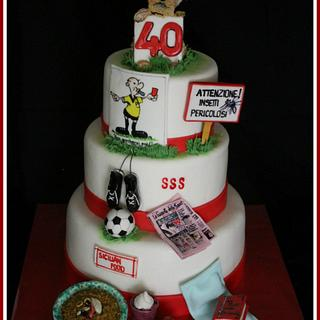Man Passion cake