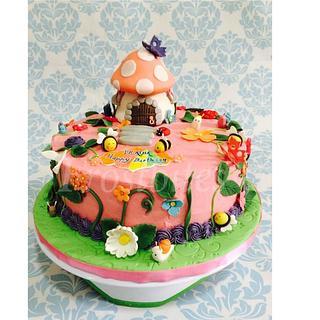 Garden cake - Cake by Sanober Saleem
