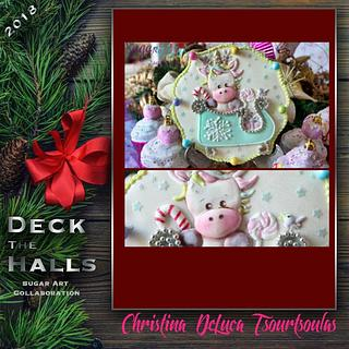 Deck the Halls - A Sugar Art Collaboration