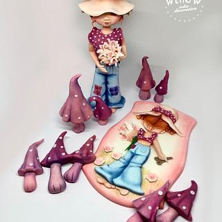 Sarah Kay, fondant cake decorations