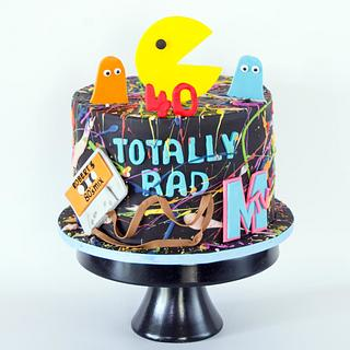 Happy 80's - Cake by Anchored in Cake