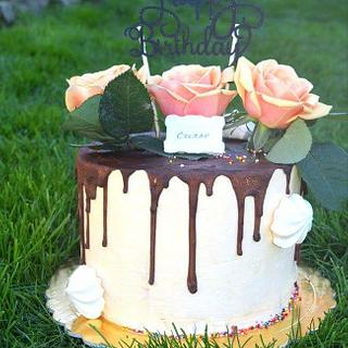 Birthday Silviq  - Cake by Silviq Ilieva