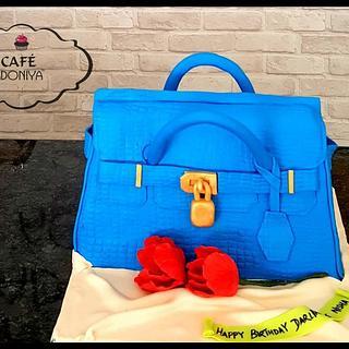Birkin bag cake - Cake by Maaria