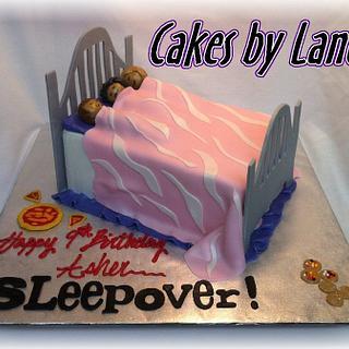 Sleepover Bed Cake