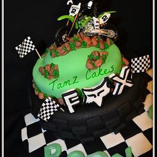 Motor Bike Cake - Cake by Tammy