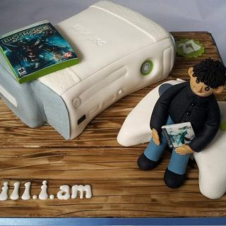 Will.i.am and his Xbox - Cake by Jan