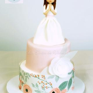 Rocío communion cake