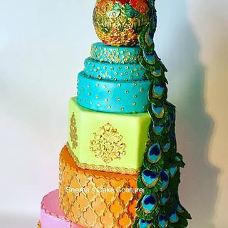 Classic Indian Wedding Cake