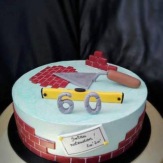 Bricklayer cake