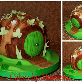 Hobbit House...Inspired by The Pink Cake Box