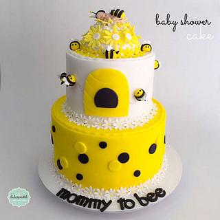 Torta Abeja Baby Shower