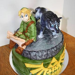 Zelda Twilight Princess Cake - Cake by Miranda