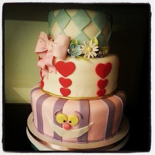 Alice in wonderland - Cake by kira